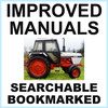 Thumbnail Collection of 2 files: Case David Brown 1290 Tractor Factory Service Manual & Illustrated Parts Manual - IMPROVED - DOWNLOAD