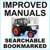 Thumbnail Collection of 4 files: Case David Brown 1294 Tractor Factory Service Manual & Parts Manual & Operators Manual & Shop Manual - IMPROVED - DOWNLOAD
