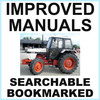Thumbnail Collection of 2 files: Case David Brown 1390 Tractor Factory Service Manual & Illustrated Parts Manual - IMPROVED - DOWNLOAD