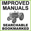 Thumbnail Massey Harris 744D Tractor Illustrated Parts Catalog Manual - IMPROVED - DOWNLOAD
