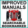 Thumbnail Collection of 3 files: Massey Ferguson MF 65 MF65 Tractor Service Repair Manual & Operators Manual & Parts Catalog - IMPROVED - DOWNLOAD