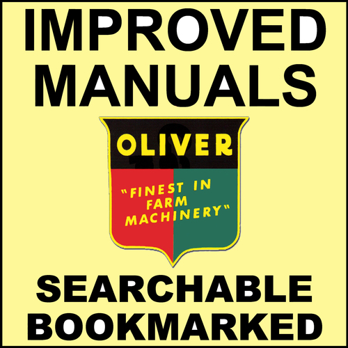 Product picture Oliver 1750 1800 1850 1900 1950 Tractor Shop Service Repair Manual - IMPROVED - DOWNLOAD