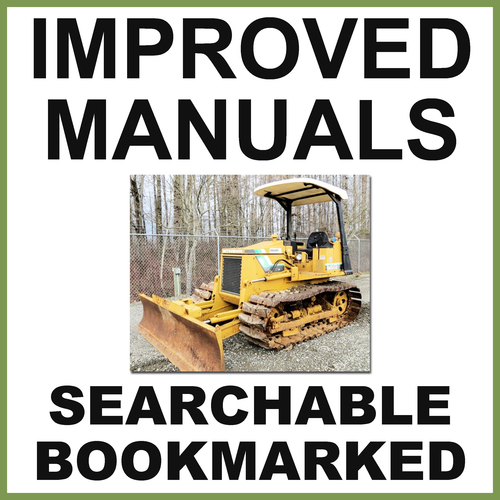Product picture Mitsubishi BD2G Tractor & BS3G Shovel Factory Repair Service Manual - IMPROVED - DOWNLOAD